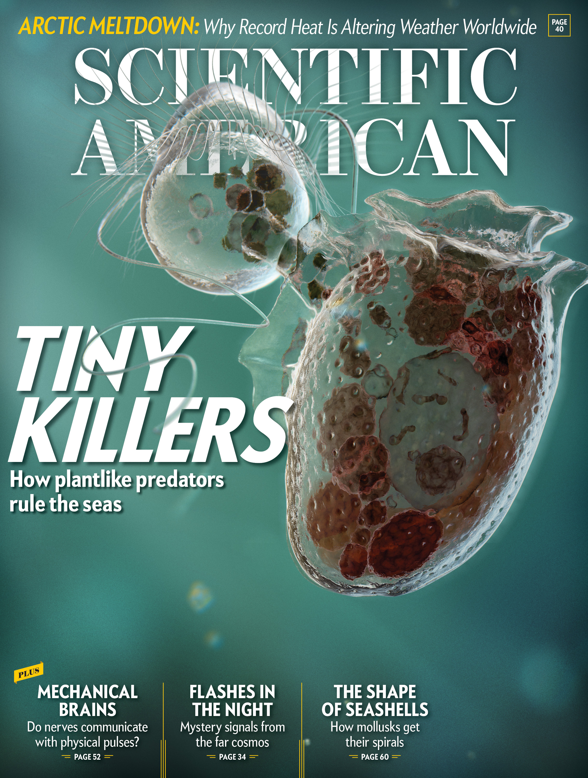 Scientific American Tiny Killers Mark Ross Studio